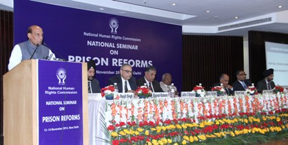 National Seminar on Prison Reforms, organised by the National Human Rights Commission, in New Delhi on November 14, 2014