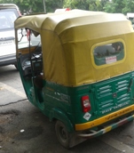 CNG-Run Autorickshaw