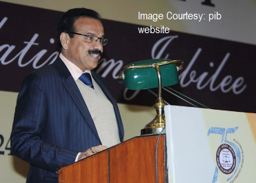 The Union Minister for Law & Justice, Shri D.V. Sadananda Gowda addressing at the valedictory session of the Platinum Jubilee Celebrations of Income Tax Appellate Tribunal, in New Delhi on January 25, 2016.