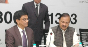 "The Minister of State for Culture (Independent Charge), Tourism (Independent Charge) and Civil Aviation, Dr. Mahesh Sharma launching the ""24x7 Toll Free Multi-Lingual Tourist Info Line in 12 International Languages including Hindi & English"", in New Delhi on February 08, 2016."