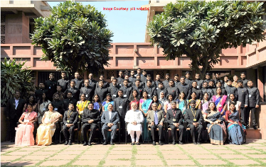 The Prime Minister, Shri Narendra Modi in a group photograph with the IAS probationers of 2015 batch, at Parliament Library, in New Delhi on February 23, 2016. The Minister of State for Development of North Eastern Region (I/C), Prime Minister's Office, Personnel, Public Grievances & Pensions, Department of Atomic Energy, Department of Space, Dr. Jitendra Singh, the Secretary, DoPT, Shri Sanjay Kothari and other dignitaries are also seen.