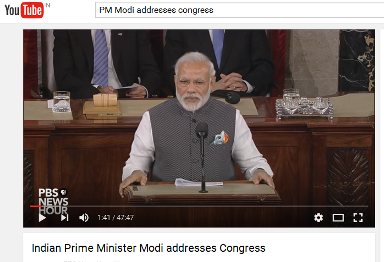 PM Modi addresses Congress