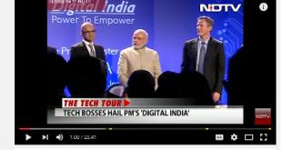 PM Modi at Silicon Valley