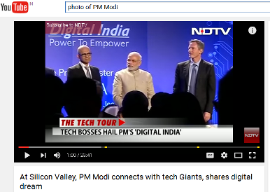 PM Modi at Silicon Valley