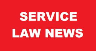 Service Law News