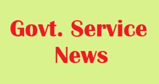 Govt. service news