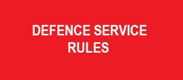 Defence Service Rules