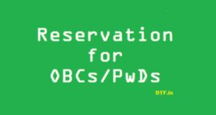 OBCs-PwDs