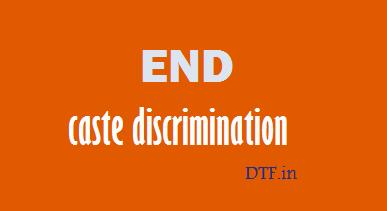 End Caste Discrimination