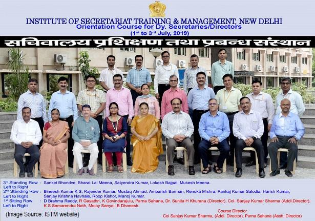 Orientation Course for DSs/Directors