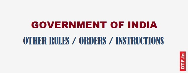 Other Govt. Orders