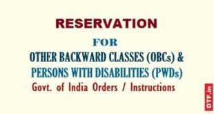 Reservation for OBCs