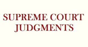 SC Judgments