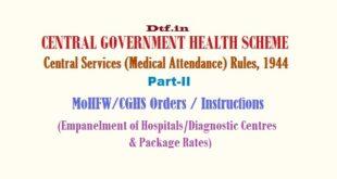 CGHS Part-II