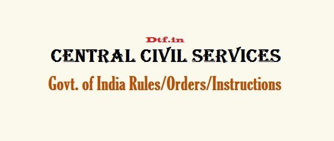 Central Civil Services