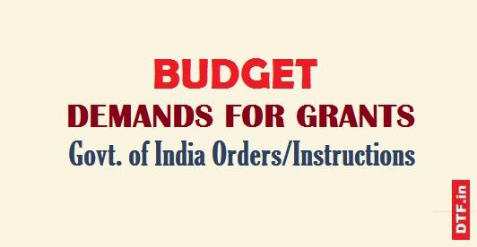 Budget-Demands for Grants
