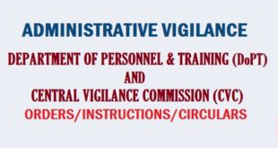 Administrative Vigilance