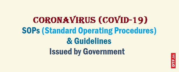 COVID-19 SOPs